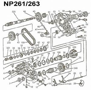 Np261 Np263 Xhd Transfer Case Parts Chevy