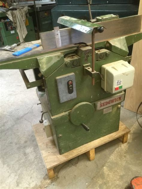 sedgwick    planer thicknesser   woodmachinery