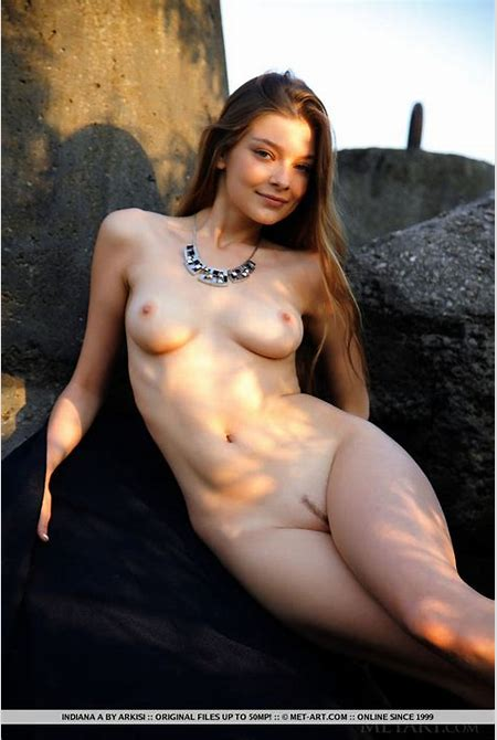 Indiana A. - Razome from Metart - on NudeModel.Pics