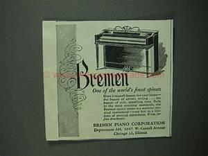 Cafe Piano Bremen : 1950 bremen spinet piano ad world 39 s finest ~ Orissabook.com Haus und Dekorationen