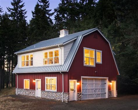 shed style homes gambrel pole barn designs woodworking projects plans