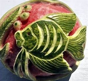 17 best images about watermelon carving masterpieces on With watermelon carving templates