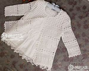 Pretty And Feminine Crochet Cardigan Pattern Diagram