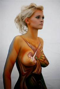 Painted Female Bodies Body Art and Painting