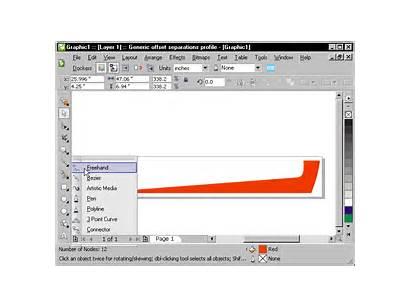 Coreldraw Tool Trim Lines Object Trimming Cutting
