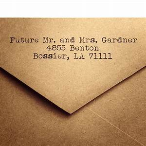 25 rustic return address a2 envelopes wedding return for Examples of wedding invitation envelopes