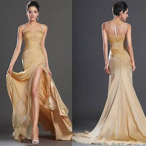 fashion sexy formal dress 2013 perspectivity beading slit With wedding dinner dress