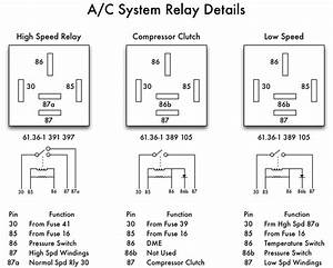 Bmw E36 Air Conditioning Relays