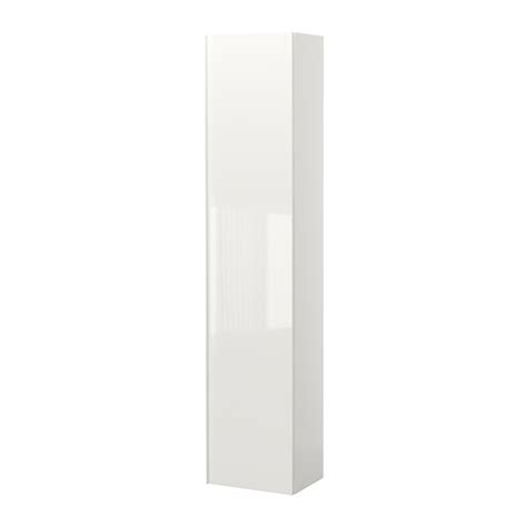 Armoire Godmorgon Ikea by Godmorgon High Cabinet High Gloss White Ikea