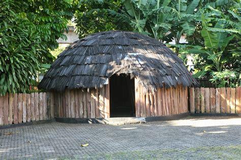 Gambar Rumah Adat Suku Papua Rumah Adat Papua Honai Gambar Rumah