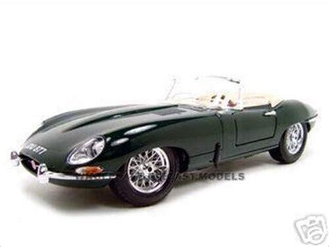 1961 Jaguar E Type Convertible Green 1