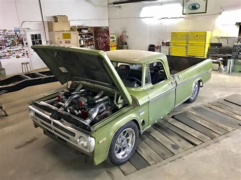 Dodge Truck Engines by 1970 Dodge Truck With Two Turbo Cummins Inline Six