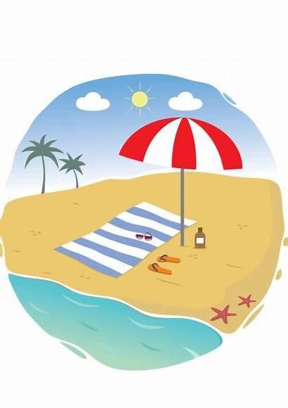 Beach Towel Vector Turkey Clip Illustrations Graphics