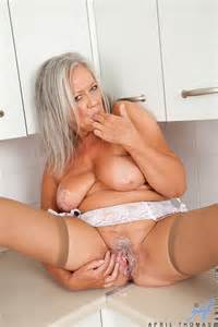 Mature Lady April Thomas Undress In The Kitche Milf Fox