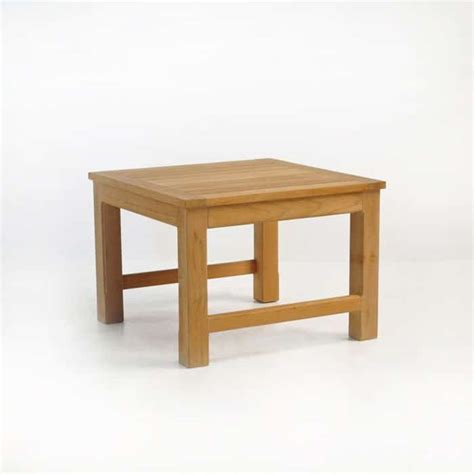 monterey teak side table patio furniture teak warehouse