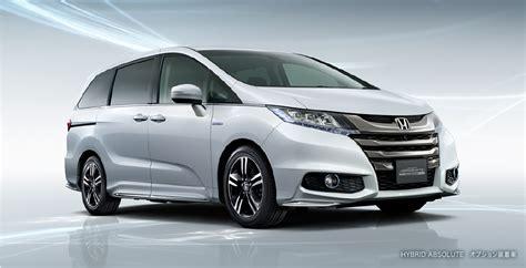 Jdm-only Honda Odyssey Hybrid Set For February Launch