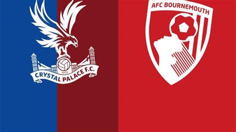 Premier League: Crystal Palace v Bournemouth - Live - BBC ...