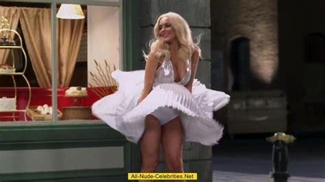 Lindsay Lohan Spread Eagle Cumception
