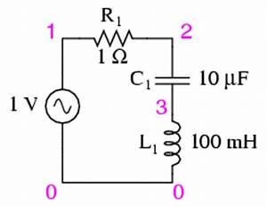 simple series resonance resonance ac circuits With lc resonant circuit