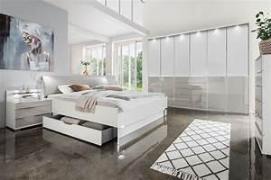 Schlafzimmer Weiß Grau : wiemann schlafzimmer shanghai 2 wei kieselgrau m bel letz ihr online shop ~ Frokenaadalensverden.com Haus und Dekorationen