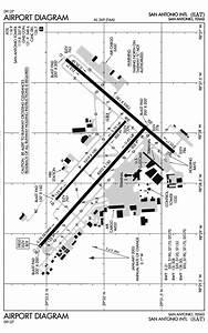 Ksat Airport Diagram