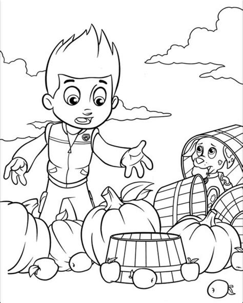 Kleurplaat Paw Patrol A4 by Get This Paw Patrol Preschool Coloring Pages To Print