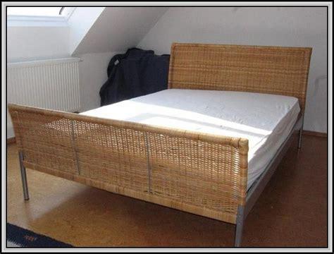 Ikea Rattan Bett Sundnes  Betten  House Und Dekor