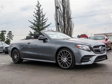 And it comes in more than one bodystyle, too. New 2019 Mercedes-Benz E53 AMG 4MATIC+ Cabriolet Convertible in Kitchener #38771 | Mercedes-Benz ...