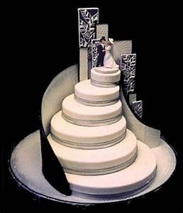 White runway for Wedding cake design ideas