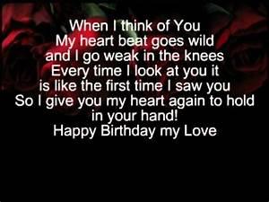 Image Gallery happy birthday love poems
