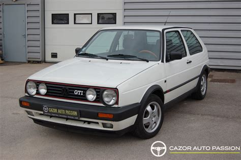 Volkswagen Golf 2 Gti 8 Soupapes Type 19pb22 112ch