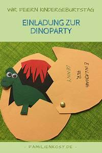 Dino Basteln Vorlage : dino einladungskarten zur dinoparty einladungen selber ~ Lizthompson.info Haus und Dekorationen