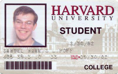 harvard fake id cards card template student international