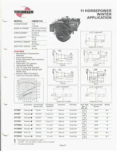 Tecumseh Ohv130 Wiring Diagram
