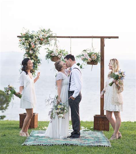 Whimsical Boho Wedding Inspiration Green Wedding Shoes