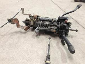 94 95 96 97 Ford F250 Bare Steering Column W  Key  Tilt
