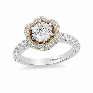 enchanted disney belle 1 1 2 ct tw diamond frame With belle wedding ring