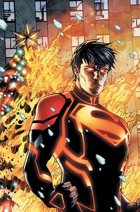 Human Torchthe Thing Vs Superboy New 52 Battles Comic