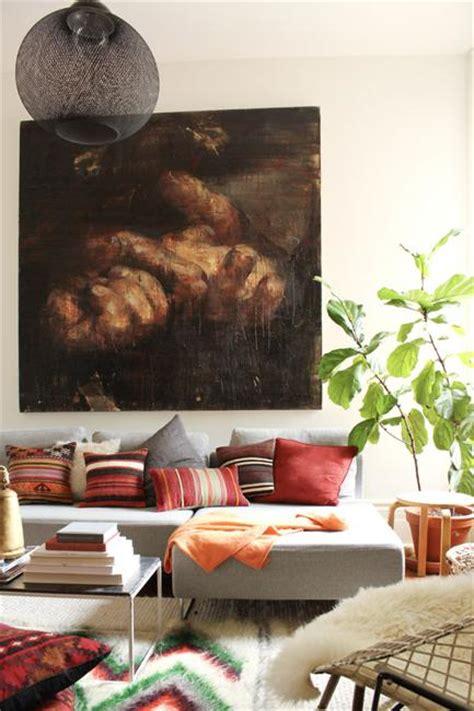 bohemian decor ideas adding chic  color  small living