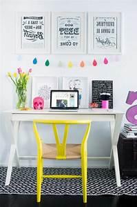 Bureau Chambre Ado Fille : 26 id es pour d co chambre ado fille ~ Dallasstarsshop.com Idées de Décoration