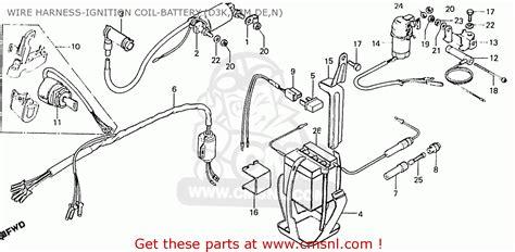Honda Cd70k1 General Export Type 3 Kmh Wire Harness