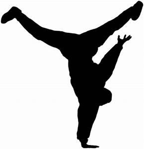 Contemporary Dancer Silhouette | Clipart Panda - Free ...