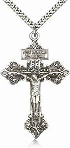 "Crucifix Pendant from Catholic Faith Store (2 1/8"" x 1 3/8 ..."