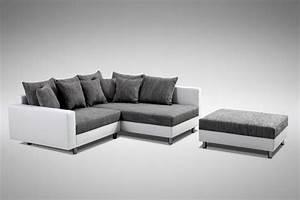 Couchbezug Für Eckcouch : modernes sofa couch ecksofa eckcouch in weiss eckcouch mit hocker minsk r kaufen bei kuechen ~ Watch28wear.com Haus und Dekorationen
