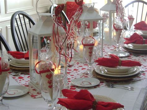 valentines table settings modern valentine day table settings