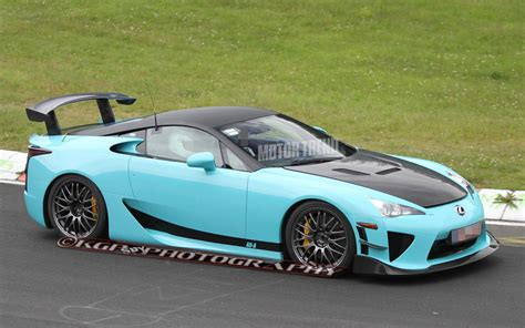 Modified Lexus Lfa Tester Laps The 'ring, Possible