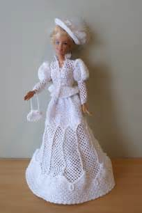 Free Crochet Patterns Barbie Doll Dresses