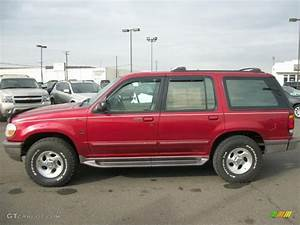 Toreador Red Metallic 1997 Ford Explorer Xlt 4x4 Exterior