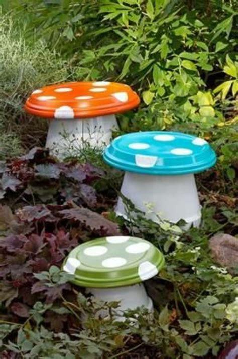 Pilze Für Garten Basteln garten deko zum basteln 40 sch 246 ne bilder