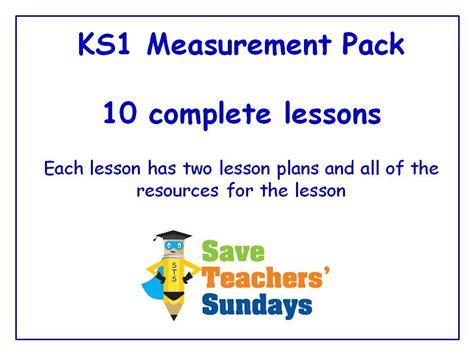 Ks1 Measurements Lessons Bundle  Pack (10 Lessons) By Saveteacherssundays  Teaching Resources